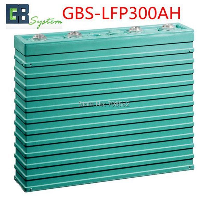 GBS 3.2V300AH LIFEPO4 Battery for electric car/ solar/UPS/energy storage etc GBS-LFP300AH