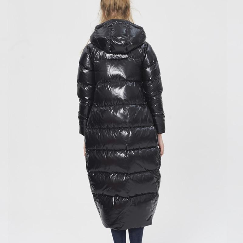 Manteaux Nouveau De Femmes La 2018 Hiver Veste Épaissir 5xl À Marque Le Plus Taille Femme Capuchon Bas Mode Chaud Vers Pardessus Zs371 Manteau Black Européenne Rc54AjL3q