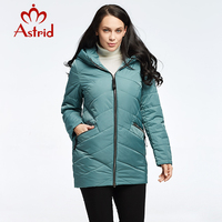 2018 Astrid Women Down Jacket Autumn And Winter Jacket Fashion Warm And Comfortable Leisure Brand Female
