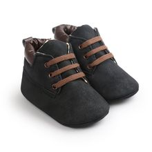 Newborn Baby Boys Casual Kids Classic Handsome Shoes Crib Babe Infant Toddler Soft Soled Boots