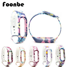Fancy Replace for Xiaomi Miband 2 For Mi Band font b Smart b font Wrist Band