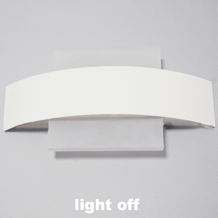 Modern LED Wall Sconce LED Living Room Foyer Bedroom Bathroom Wall - Square bathroom sconce