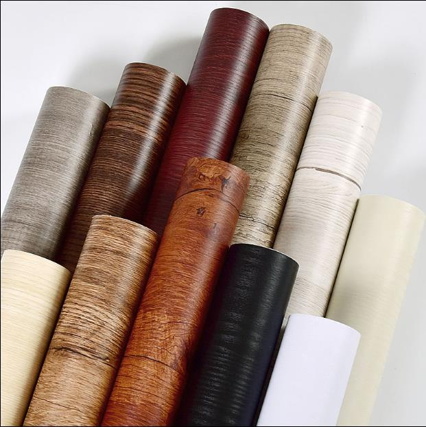 Thick White Wood Paste Stickers Boeing Film Pvc Waterproof Self-adhesive Wall Paper Wardrobe Cabinet Old House -830