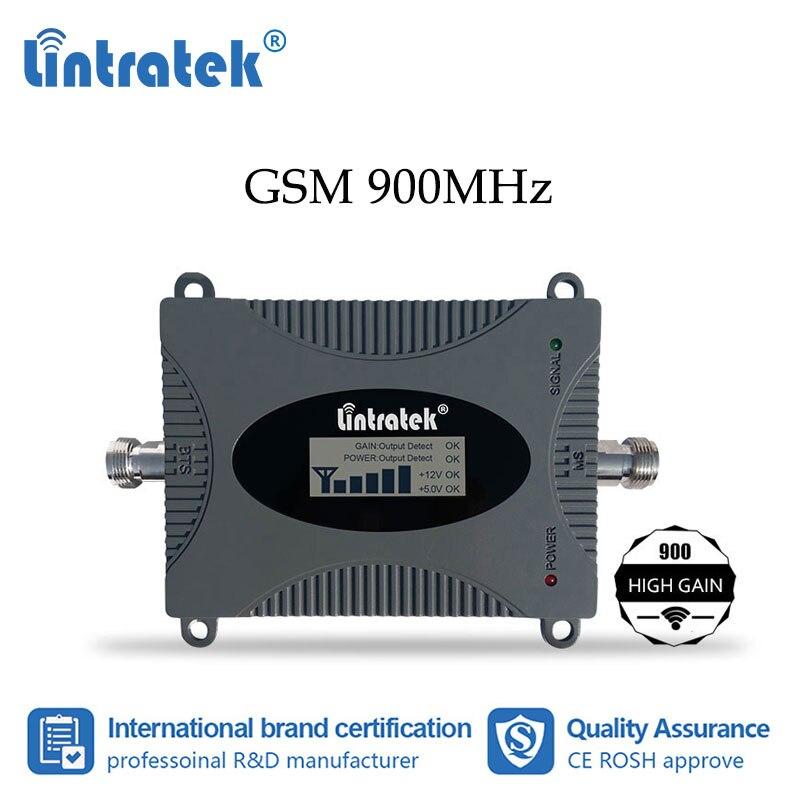 Lintratek GSM 900 MHz Sinal de Telefone Celular Impulsionador Repetidor GSM 900 Sinal De Celular Amplificador com Display do telefone Móvel Selector #7
