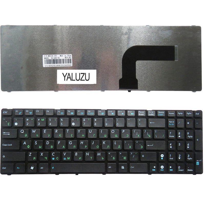 YALUZU RU Black New FOR ASUS N61Ja N61Jq N61Jv N61VG N61VF  K53E G53 G53JW K73 K72 K72s K73B K73E K73S K73sd Keyboard Russian