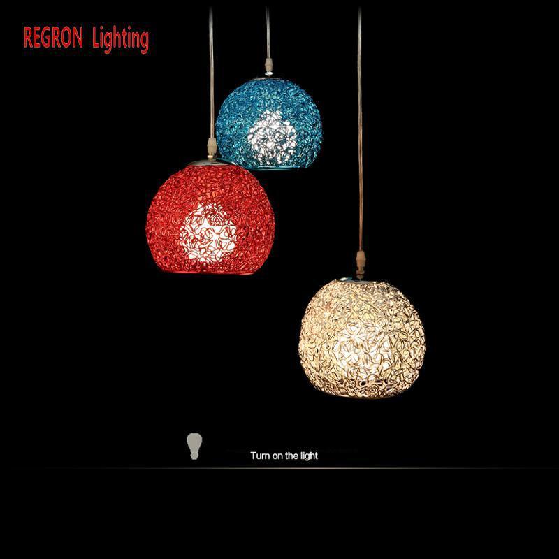 Regron Long Spiral Pendant Lights Modern E27 Duplex Interior With Aluminum Shade Hanging Lamp For Buildings Stair Bar Villa