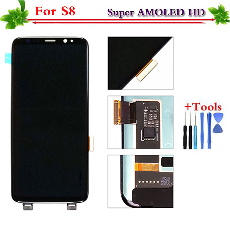 AMOLED LCD display for font b Samsung b font font b Galaxy b font S8 G950
