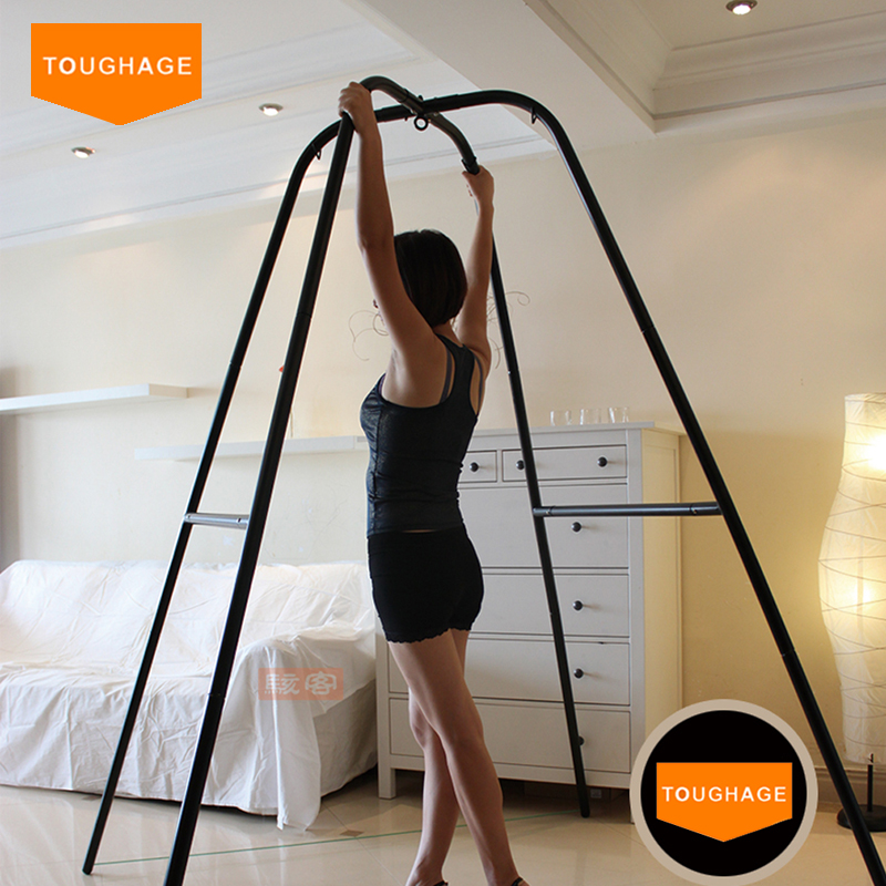 TOUGHAGE Sex Indoor Swing+Adjustable Restraints Fetish Sex Position Bondage Nylon+Sponge+Metal Sex Furniture For Couples