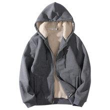 6746d16cea78 Для мужчин спорт бег куртки зима флис Толщина Термальность куртка на молнии  свитер мужской бег Досуг Повседневное куртка пальто
