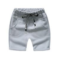 Trẻ Em mùa hè Cotton Quần Short Bé Trai Đan Trung Quần Nhà Giản Dị Denim Quần Lót Trai Shorts infantil para menina
