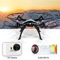 Frete grátis H899B RC Drones com Câmera de 5MP HD WI-FI FPV Real-time 6-axis 2.4G controle remoto Quadcopter VS X8C X8W X8G x101