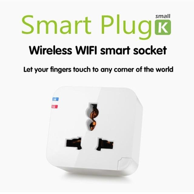Kankun ( pour l'ue / AU / UK / US ) Wifi prise intelligente pour Iphone Ipad prise Smartphone Android commutateur sans fil Wifi prise de courant intelligente