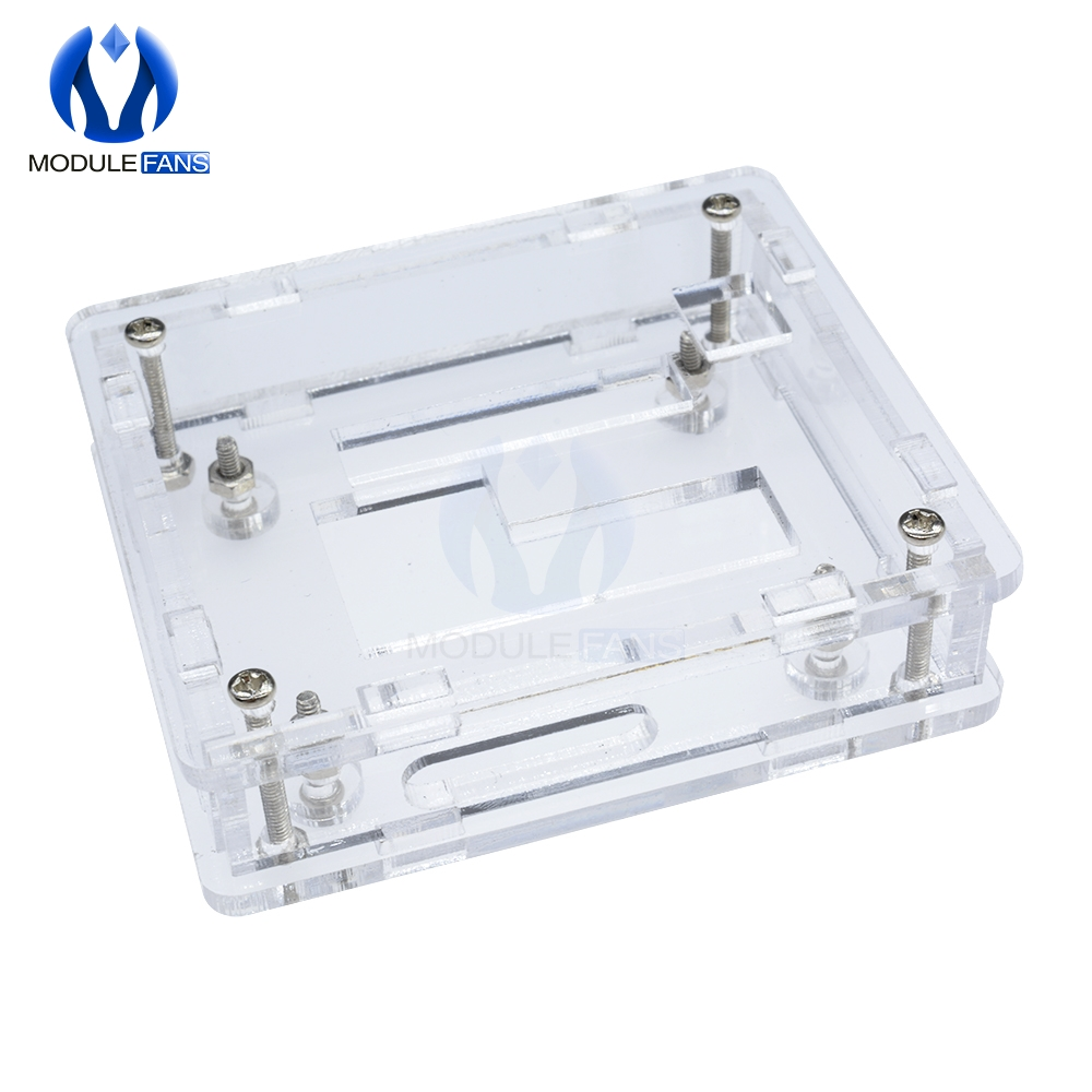 HUIMAI W1209 Case Enclosure Transparent Acrylic Box Clear Cover Thermometer thermo controller Do not include W1209