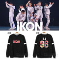 iKON new  exo  paragraph sweatshirt  with BI Jin Hanbin BOBBY Kim Ji Yuan Jun Dong-hyuk will aid men and women should dress