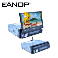 EANOP 7 Inch Car Video 2din Android 6 0 Foldable Car DVD Player Bluetooth Car Stereo
