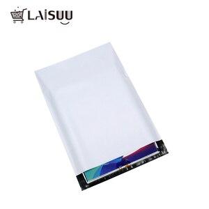 Image 3 - 50 قطعة A3 23*30.5 سنتيمتر التجارة الخارجية المصنع مباشرة الأبيض سميكة البريدية حقيبة للماء ودائم جديد المواد صريحة حقيبة