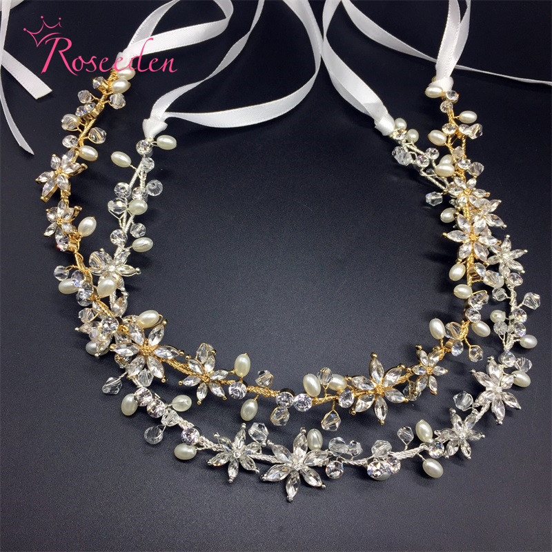Handmade cabeça bridal jóias de cristal mulheres strass acessórios do cabelo do casamento da tiara da coroa do casamento testa RE903