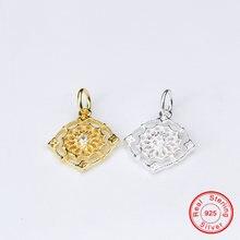 Uqbing Высокое качество золото серебро циркониевые амулеты для