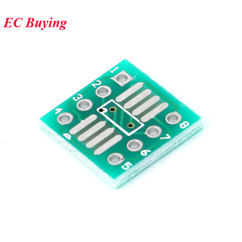 Image 2 - 35pcs PCB Board Kit SMD Turn To DIP Adapter Converter Plate SOP MSOP SSOP TSSOP SOT23 8 10 14 16 20 24 28 SMT To DIP-in Integrated Circuits from Electronic Components & Supplies