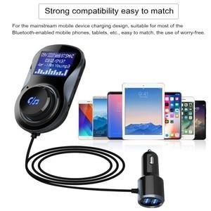 Bluetooth FM Transmitter LCD D