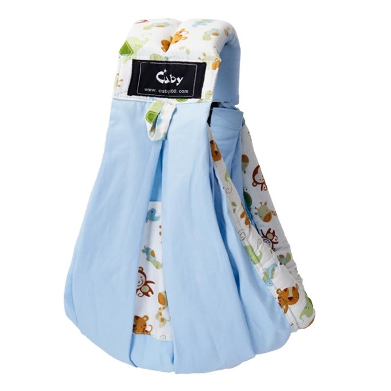 Cuby Baby Carrier Sling Wrap Cotton Hands-free Baby Sling para - Actividad y equipamiento para niños - foto 5