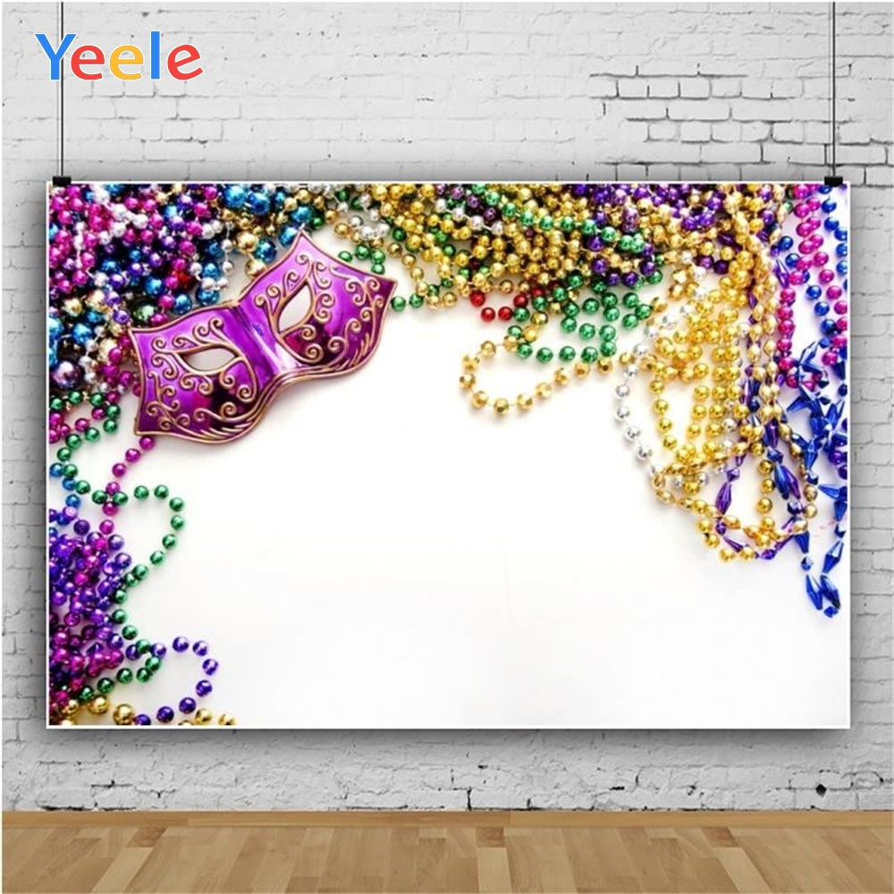 Yeele Pearl Necklace Mask White Background Professional Photography Backdrops Photographic For The Photo Studio Cloth Show baby in Background from Consumer Electronics