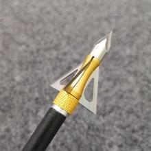 Arrowhead-Arrow-Point-Tips Archery-Blade Hunting-Arrow-Accessory Broadhead Stainless-Steel