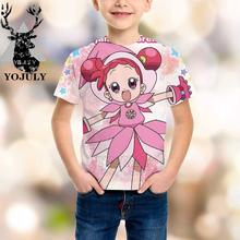 YOJULY Witch Doremi harajuku/детская одежда с 3d принтом для маленьких мальчиков и девочек-подростков детская футболка Лидер продаж, модные топы, футболки Modis A320