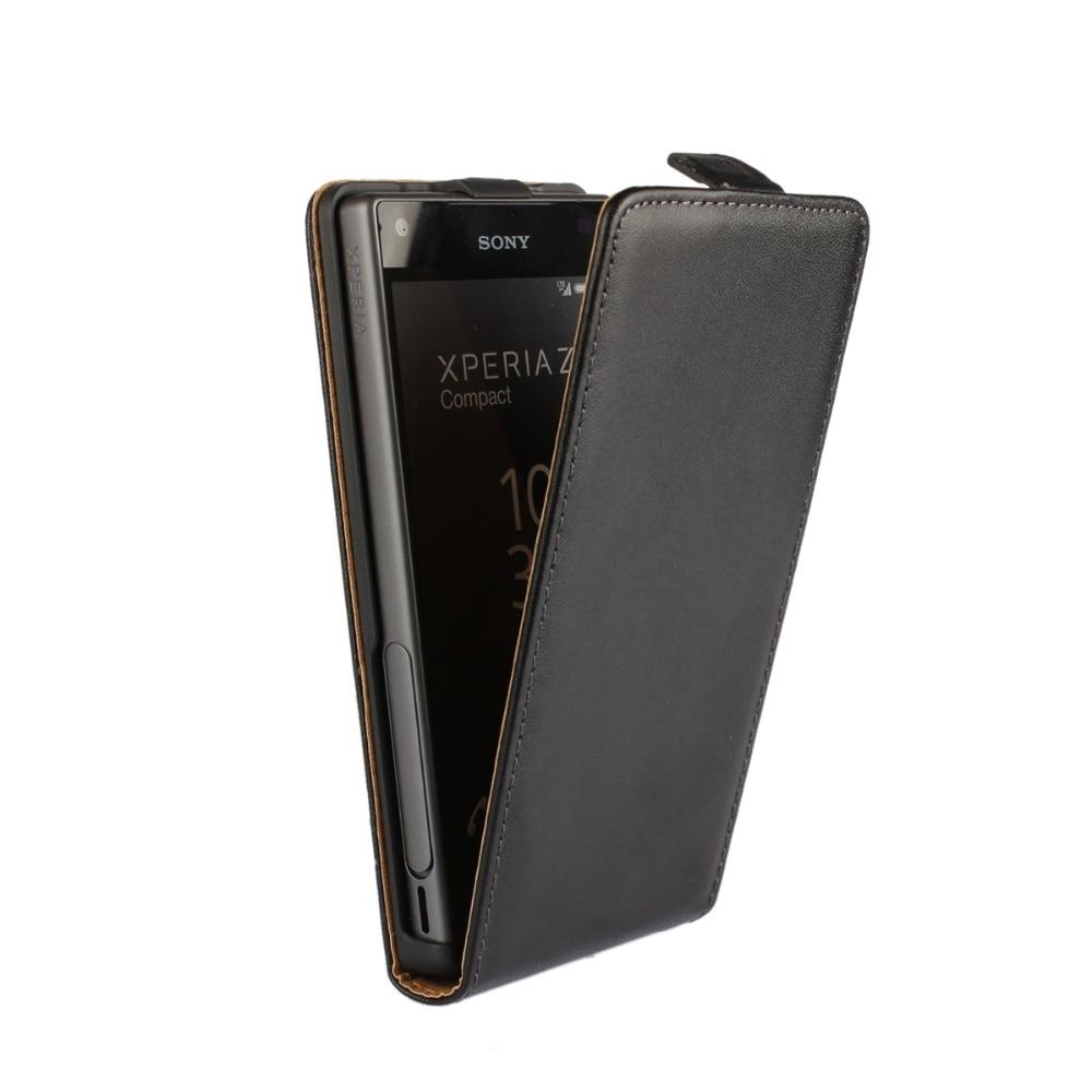 Flip-Cases Z3 Compact Z5 Premium Sony Xperia Cover-Bag For Z1-Z2 Z4 Magnetic Vertical