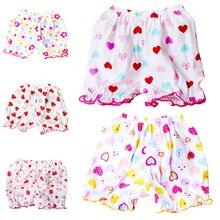 Летние детские свободные шорты с принтом; детские штаны с эластичной резинкой на талии; Повседневные детские хлопковые шорты для мальчиков и девочек