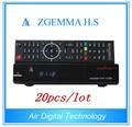20pcs/lot  High CPU Original Zgemma H.S Satellite Receiver With Original Linux OS Enigma2 DVB-S2 OneTuner