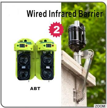 Wired 2/3/4/6 Beams Digital Active Intrared Detector 8 Channel Frequency Conversion Beams Outdoor Driveway Infrared Detectors двуручный усиленный заклепочник 520мм 3 2 4 0 4 8 6 0 6 4 gross 40409