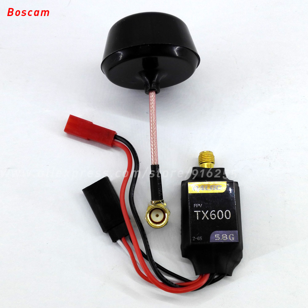 BOSCAM rc fpv av transmitter 5.8ghz 600mw 32CH mini wireless audio video model quadcopter remote clover leaf TX airplane drone boscam dv01s fpv 8 channel 5 8g wireless receiver dvr wireless audio