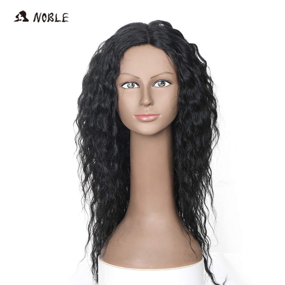 Noble Hair Handwoven I Part Artificial Wigs In Long Curly Synthetic Heat Resistant Wigs For Black Women 26 Inch Free Shipping