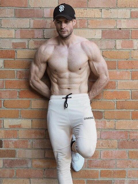 Fashion Mens Joggers Pants Skinny Casual Trousers Pants Top Quality Men Sweatpants 2