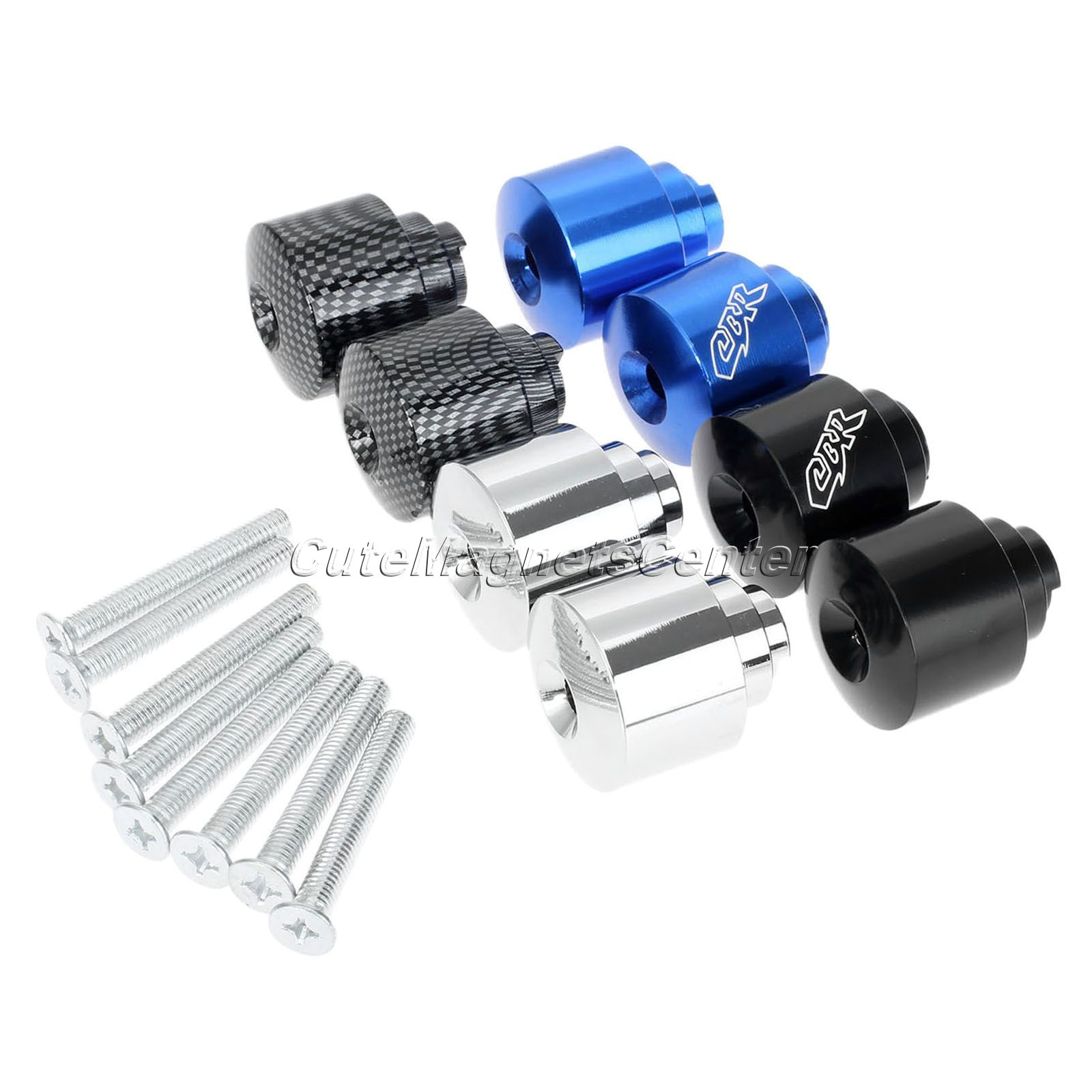 Motorcycle Handle Grips Bar Ends CBR Engraved Handbar For Honda CB 559 CB 919 CBR 600 CBR 600RR 900RR 929RR 954RR 1000RR VFR 800