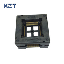 Free shipping TQFP100 FQFP100 LQFP100 Burn in Socket OTQ-100-0.5-09 Pin Pitch 0.5mm IC Body Size 14x14mm Open Top Test Adapter купить недорого в Москве