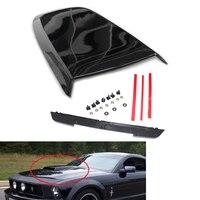 Car Front Hood Scoop Bonnet Vent Cover for FORD Mustang GT V8 05 14 Gloss Black