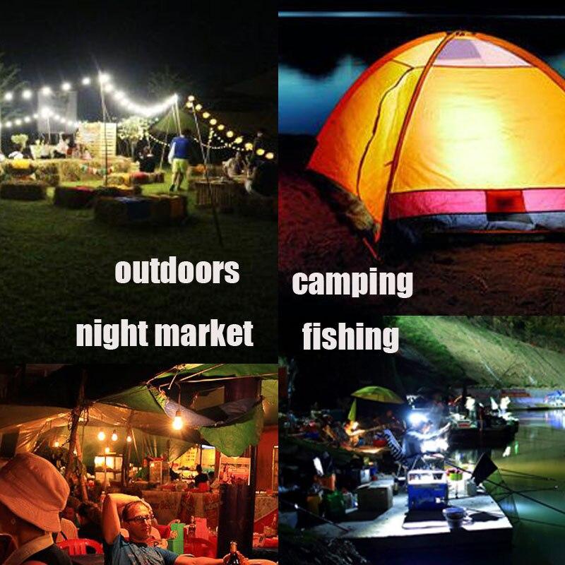 Купить с кэшбэком LED Bulbs DC 12V 24V 36V 48V E27 3W 5W 9W 12W 15W LED Lamp 6000K SMD 2835 Home Camping Hunting Emergency Outdoor Light lamparas