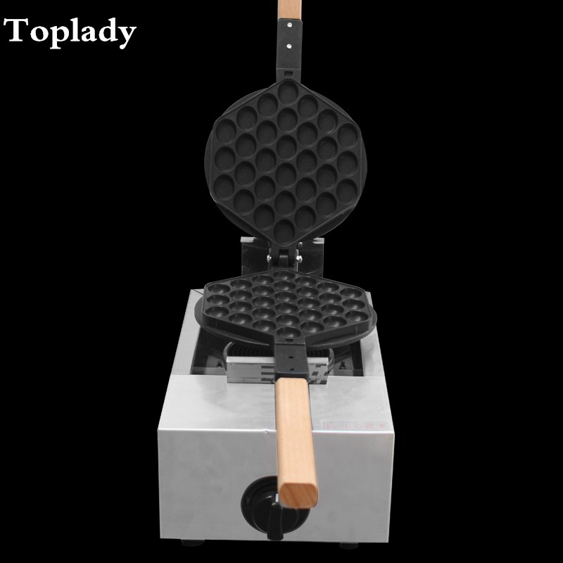 free shipping stainless steel Egg puff machine, LPG HK style Egg waffle maker ,house hold egg cake maker,bubble egg cake oven