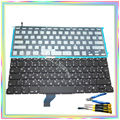 "Brand new Russian RU Keyboard with Backlight & keyboard screws & screwdriver tools for Macbook Retina 13.3"" A1502 2013-2015Years"