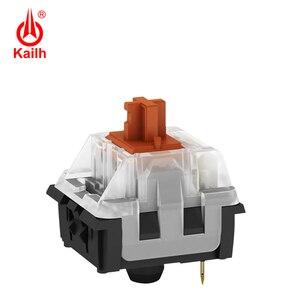 Image 2 - Kailh Long hua игровая механическая клавиатура переключатель SMD с коричневым/красным/синим/черным стержнем клавиш, с контактами