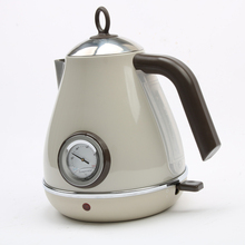 DMWD 1850 Вт 220 В Ретро 304 Нержавеющаясталь Электрический чайник умный чайник 1.7L термометр бойлер Кофе горшок автоматический Мощность Off