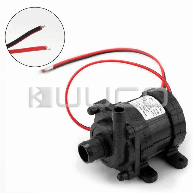 4676bd60688 18W DC 12V Water Pump Amphibious 500L H Solar Circulation Pump Booster Pump  Brushless Motor for Fish Tank Garden Aquarium etc