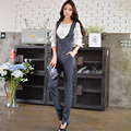 Dabuwawa high waist sleeveless jumpsuit long pants
