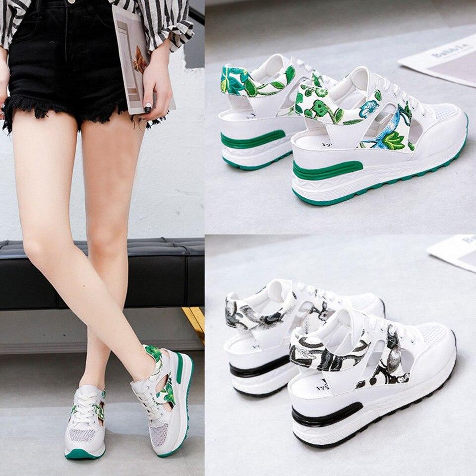 filles toile lacet femmes à lacets été Feminino chaussures blanches cuir sans Tenis vulcaniser chaussures Baskets décontracté appartements PU SUpGqMVz