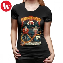 Sanderson Sisters T-Shirt T Shirt Street Wear Short-Sleeve Women tshirt O Neck Large size Ladies Tee
