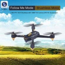 Hubsan H501S X4 5.8G FPV 10CH RC Drone Avec 1080 P HD caméra RC Quadcopter avec GPS Suivre Me Mode Automatique aller-Retour en Hélicoptère