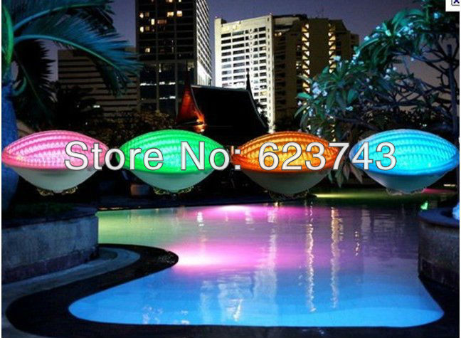 5PCS 35W Par56 RGB LED Light Swimming Pool light waterproof IP68 Fountain Lamp Underwater luz de la piscina AC12V+Remote control