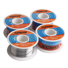 4 Pcs/Set Solder Wire 0.3/0.4/0.5/0.6mm Diameter Free Clean Rosin Core Low Melting Point High brightness Soldering Tools